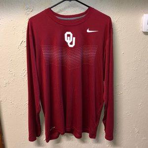 Oklahoma Sooners Nike Dri-Fit Tee